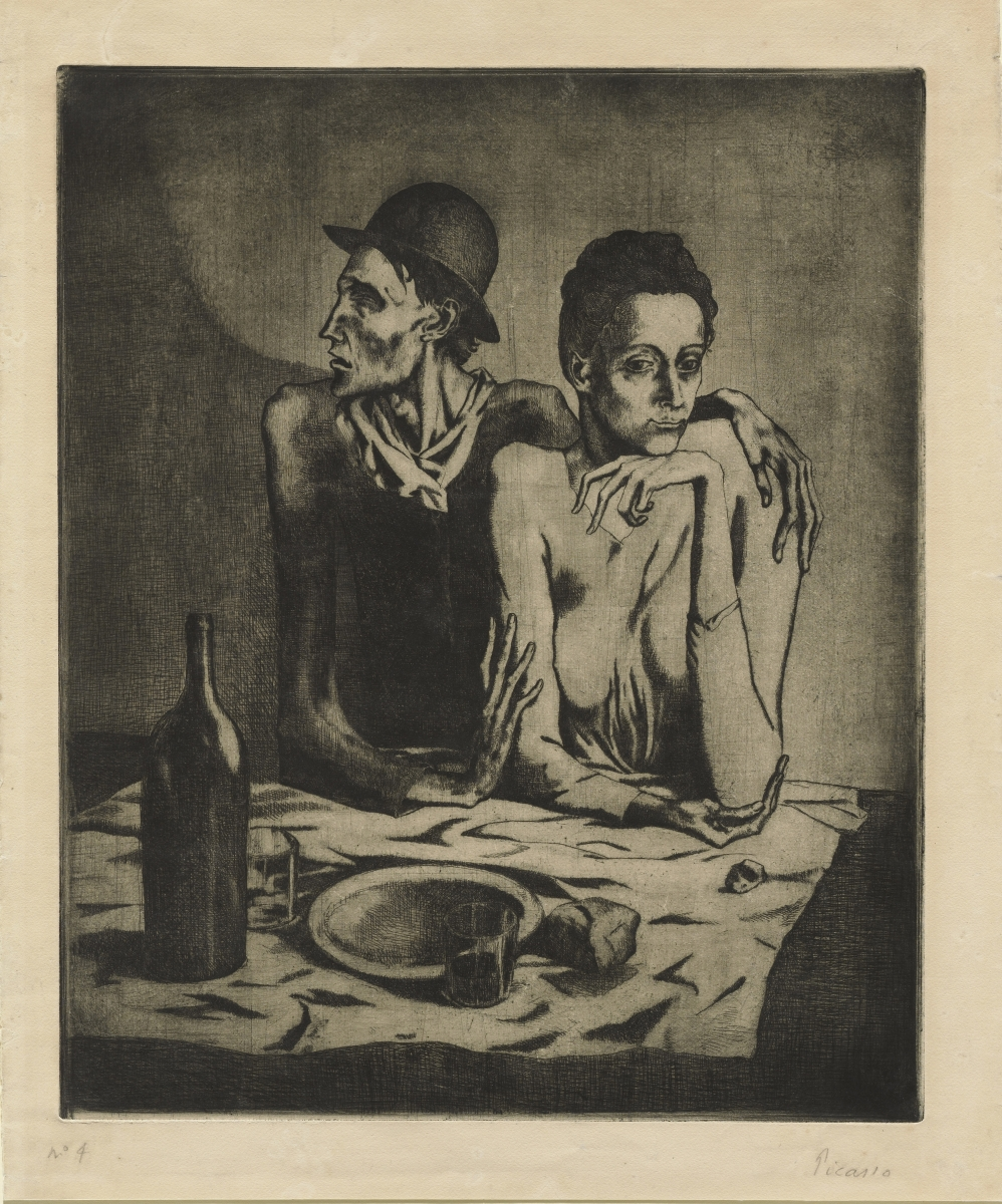 Picasso_Frugal Repast