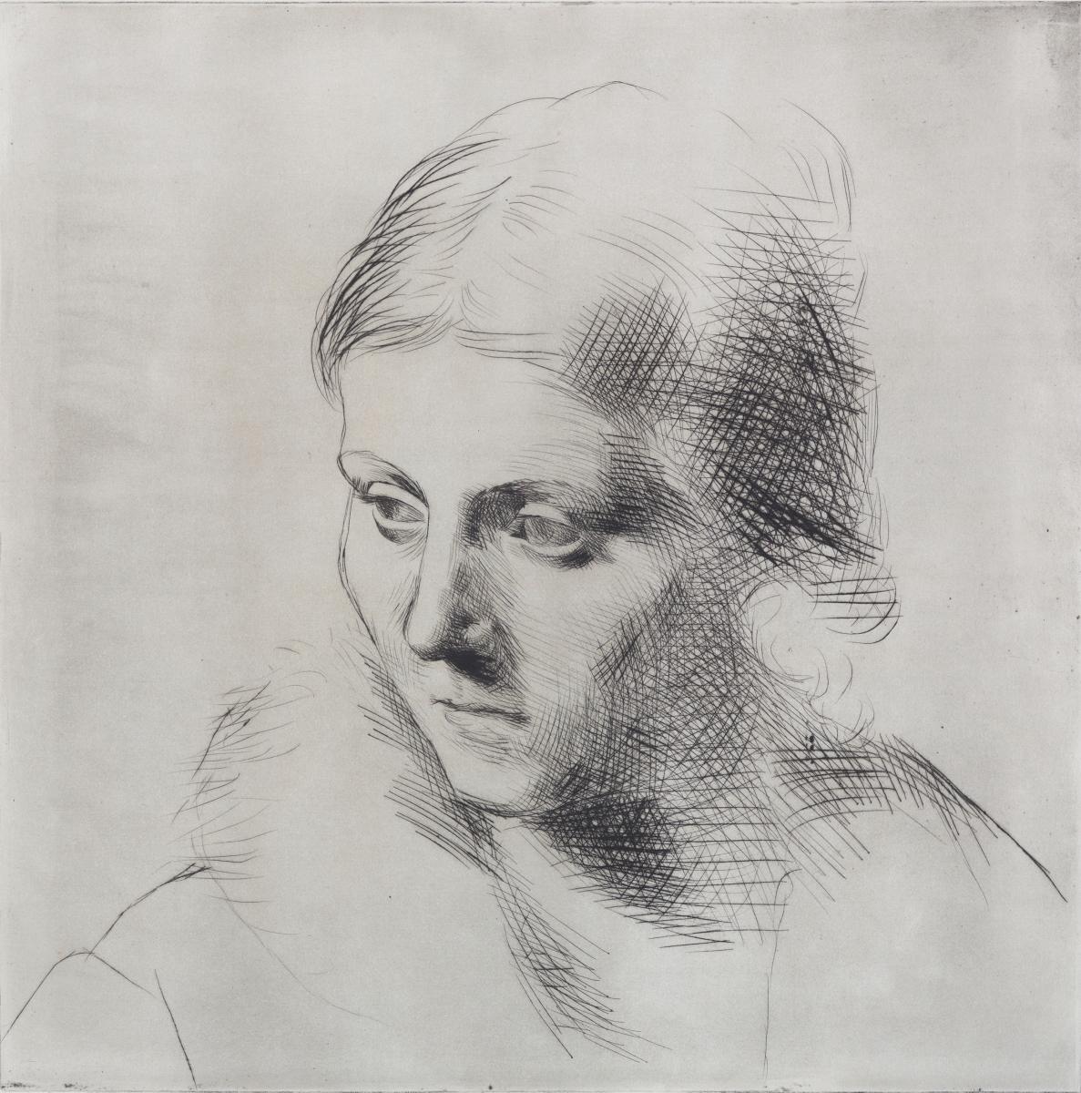 Picasso_Portrait_Olga_Fur_Collar
